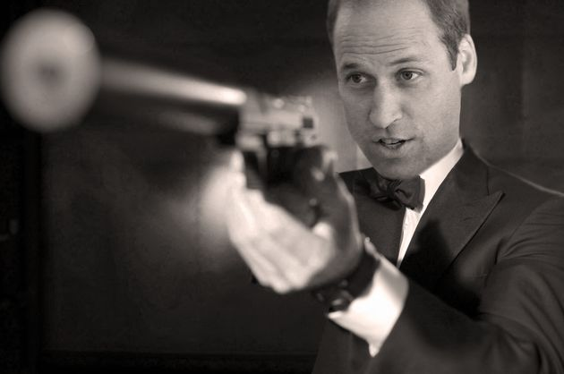 The name's Wills... How the Duke of Cambridge might look asthe next James