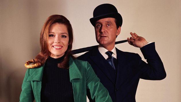 Diana Rigg et Patrick Mcnee dans
