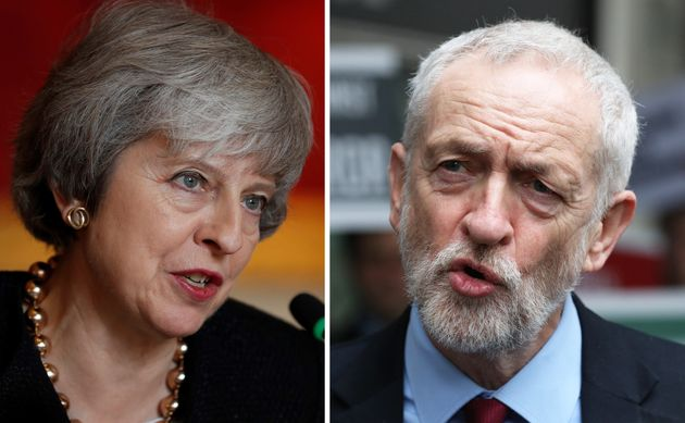 Prime Minister Theresa May and Labour leader Jeremy Corbyn. May's hopes of a Brexit compromise with Corbyn...