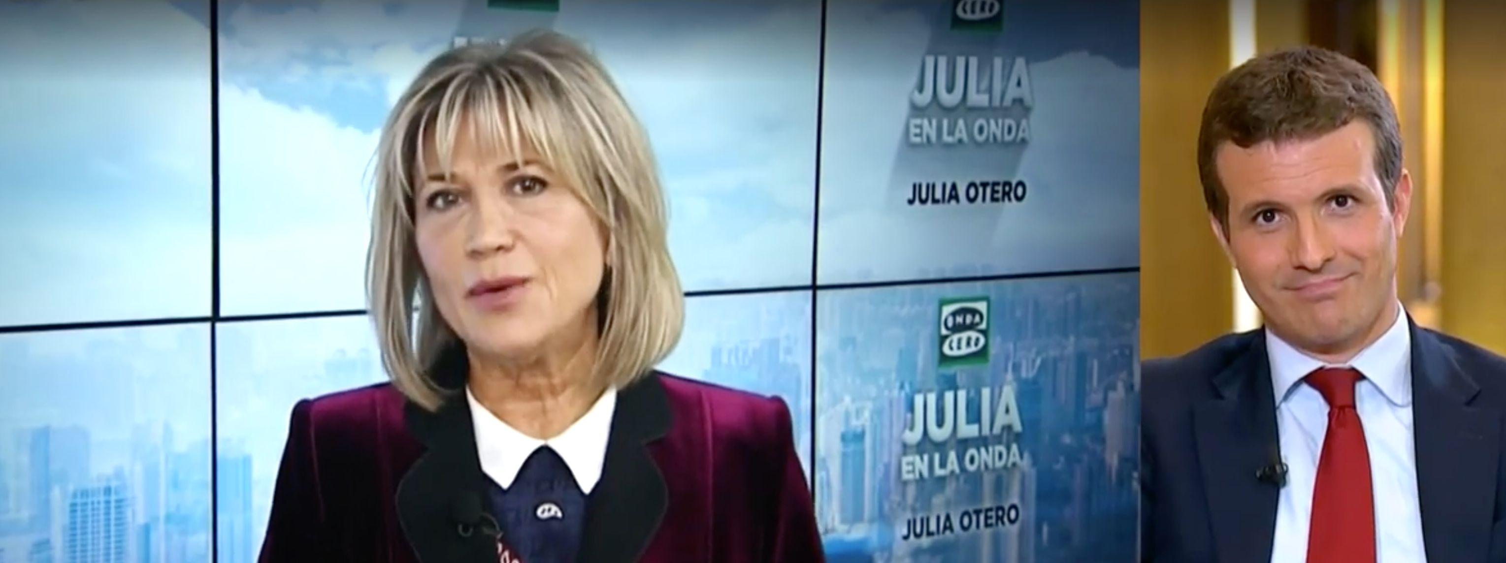 Julia Otero conquista Twitter al hacer esta pregunta a Casado en laSexta