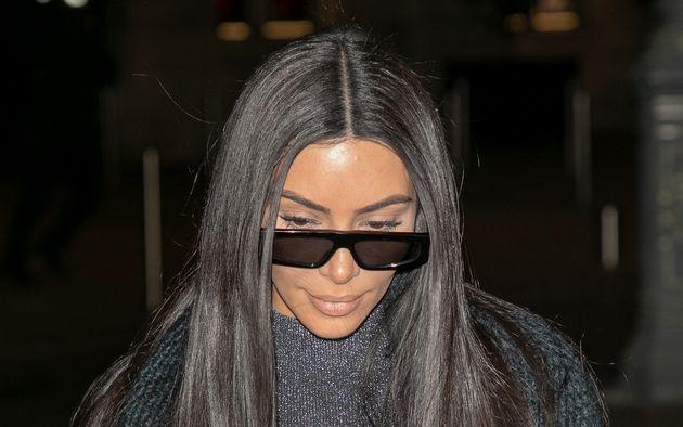 Kim Kardashian à Paris le 25 mars