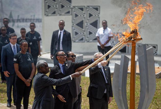 Génocide rwandais: Le président Kagame a donné le coup d'envoi de la cérémonie de