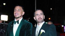 마크 제이콥스와 차르 디프란시스코의 결혼식에서 벌어진