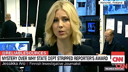 Jessikka Aro Finnish journalist