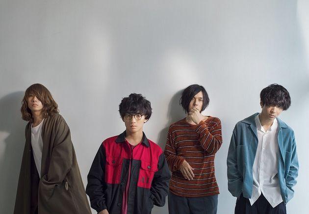 左から、イガラシさん(Bass) / wowakaさん(Vocal & Guitar) / シノダさん(Guitar & Chorus) /