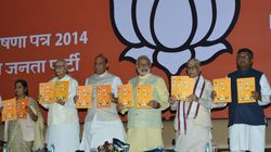 BJP To Release Manifesto For Lok Sabha Elections