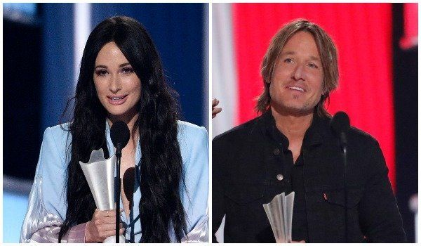 Keith Urban was named entertainer of the year and Kacey Musgraves won three honors, including female artist of the year.
