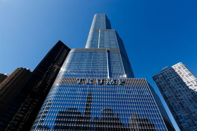 시카고에 위치한 '트럼프 인터내셔널 호텔 &