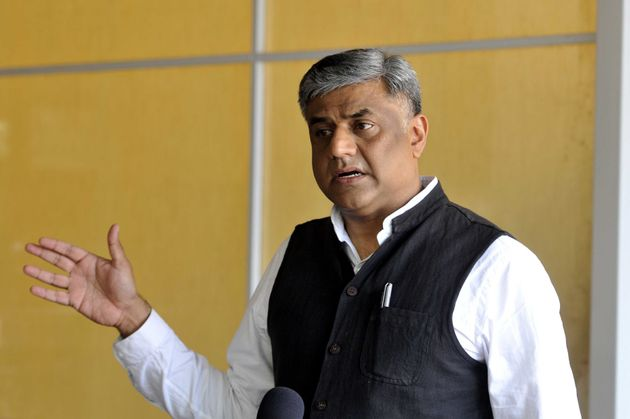 Rajya Sabha MP Rajeev Gowda, convener of the Congress's manifesto committee, in a file