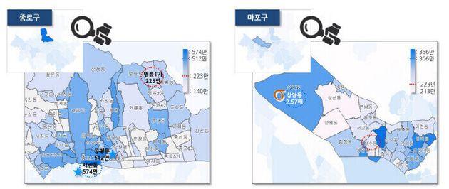 [그림6] 신한카드에서 2018년 발표한 서울