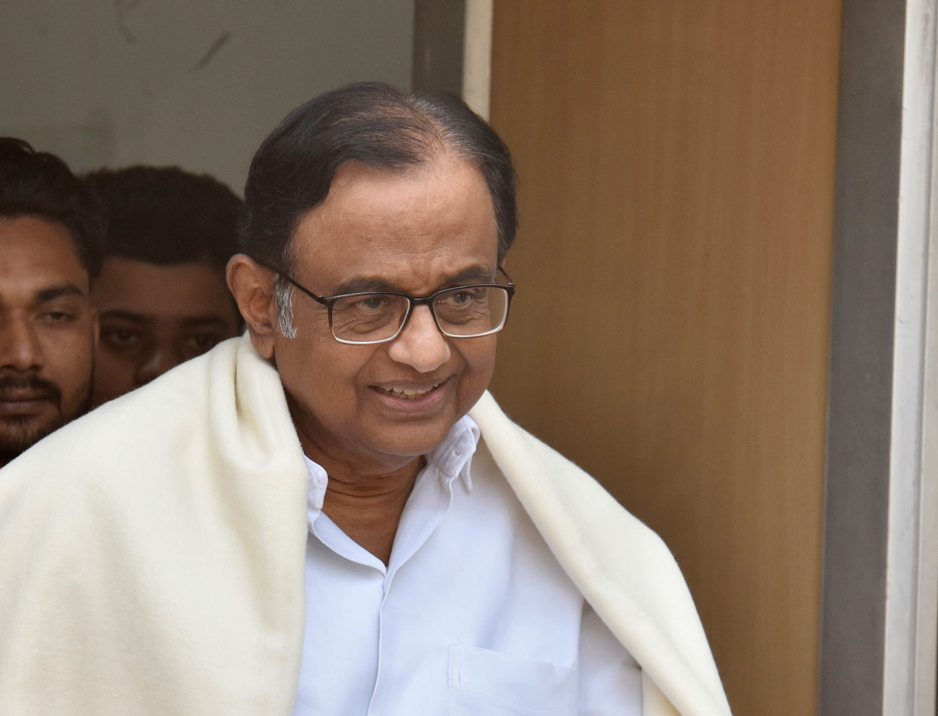 'Welcome The Search Party': P Chidambaram Claims IT Raids Being Planned At His