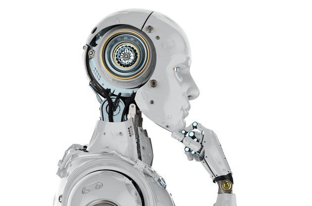 Imagen conceptual de un robot