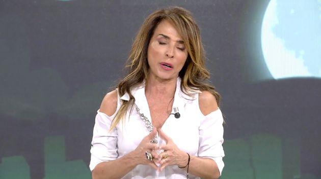 María Patiño (Telecinco) se ve obligada a pedir disculpas por un comentario sobre los