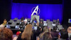 Il manquait beaucoup de super-héros à cette conférence de presse d'