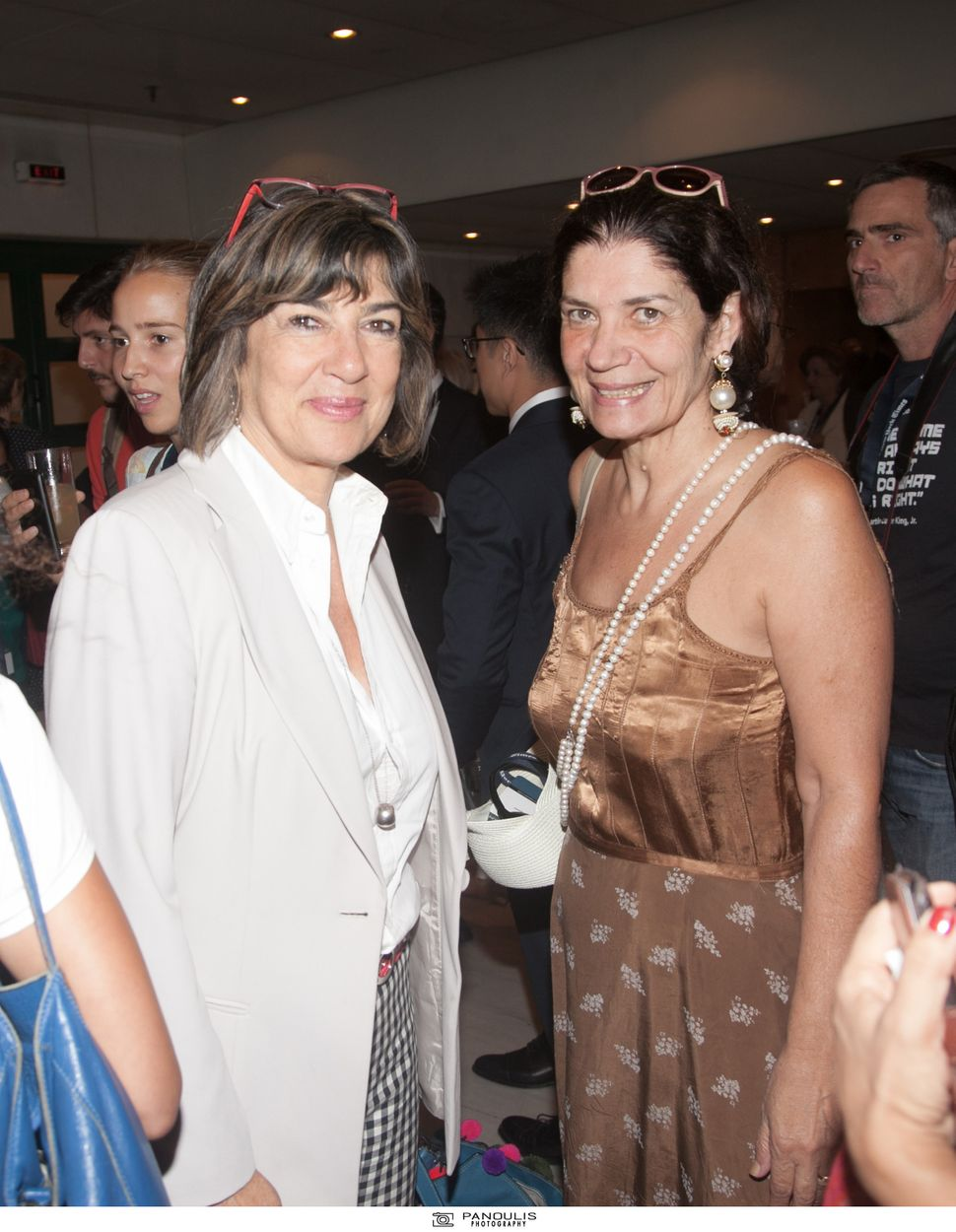 Μαζί με την καChristiane Amanpour