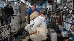 La Station spatiale internationale est aussi infectée qu'une salle de