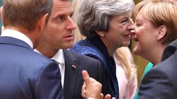 Theresa May In Last-Minute Dash To Meet Macron And Merkel Over