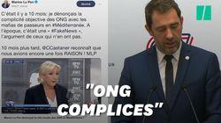 Pour Le Pen, Castaner donne enfin raison au RN à propos des