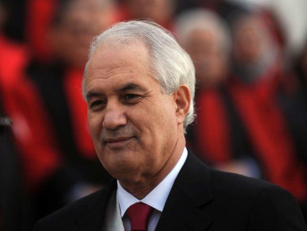 Tayeb Belaiz à Alger en décembre