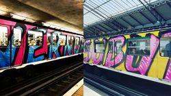 Vernon Subutex tagué sur un métro parisien pour une campagne jugée
