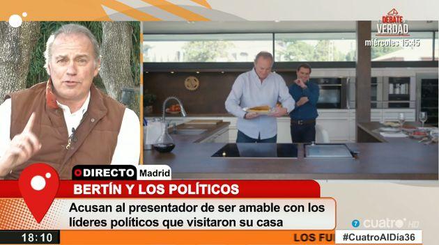 Bertín Osborne le manda un mensaje a Pablo Iglesias tras su ausencia en 'Mi casa es la