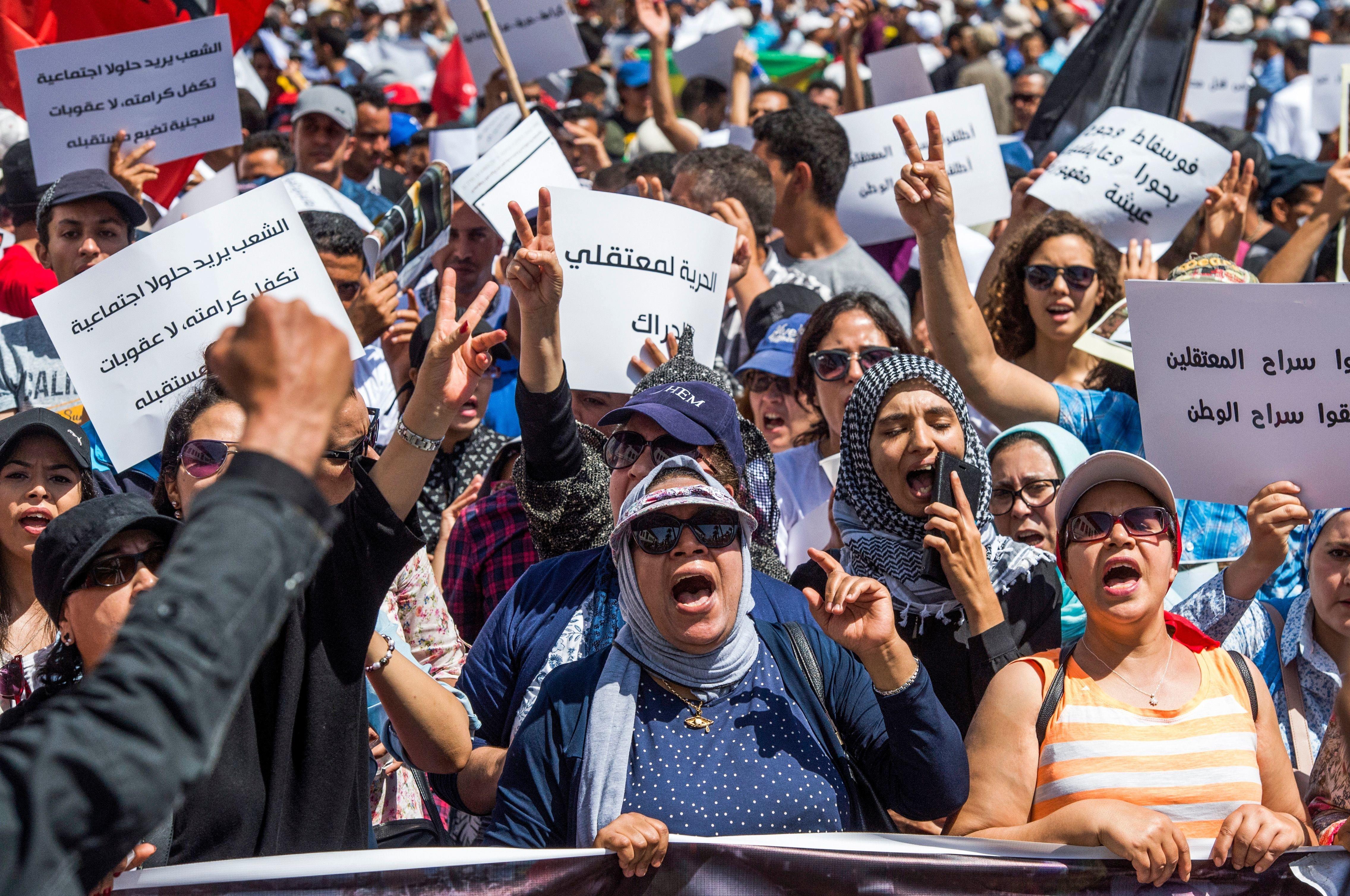 Détenus du Hirak: Nasser Zefzafi et Mohamed Haki auraient