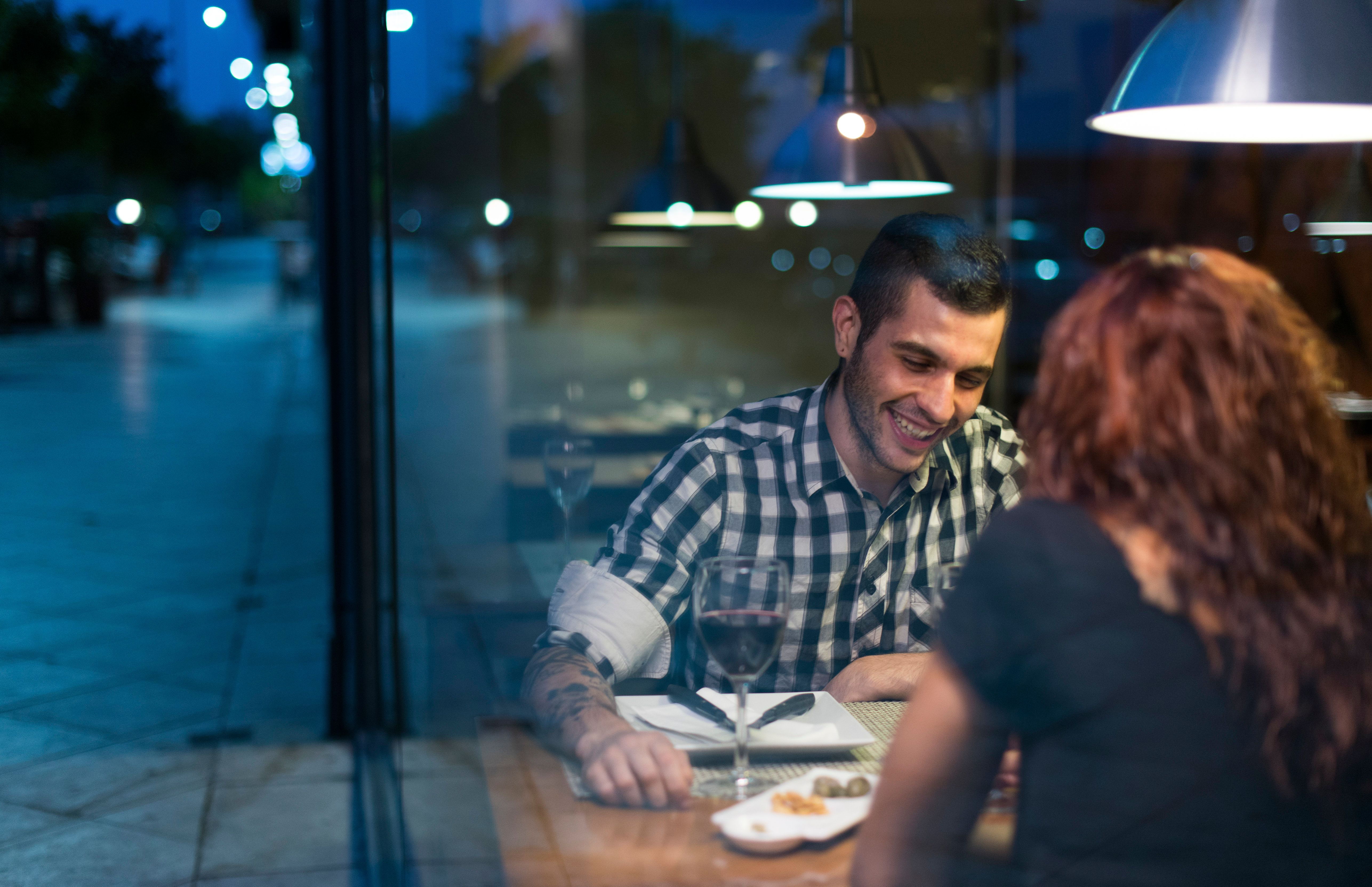 Online and offline dating aren't the easiest when you're legally blind.