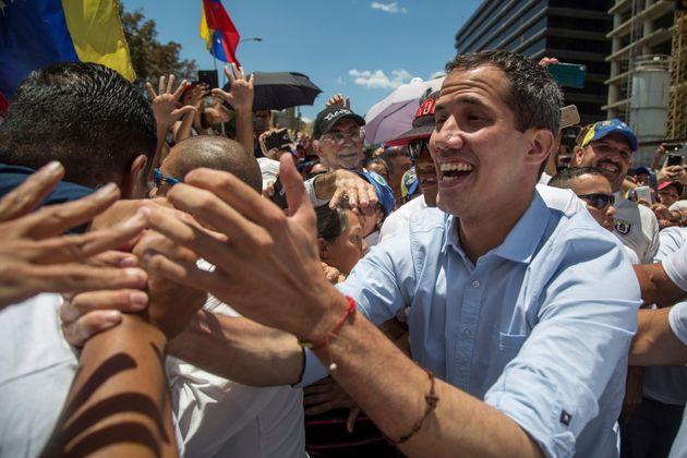 Juan Guaidó se confie au HuffPost: