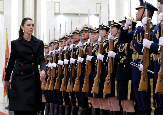 Jacinda Ardern, primeira ministra da Nova Zelândia, em visita recente à
