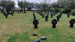 La Guardia Civil investiga la profanación del único cementerio militar alemán en