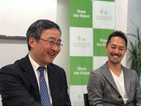 左からコモンズ投信・渋澤健氏、モア・トゥリーズ・水谷伸吉氏