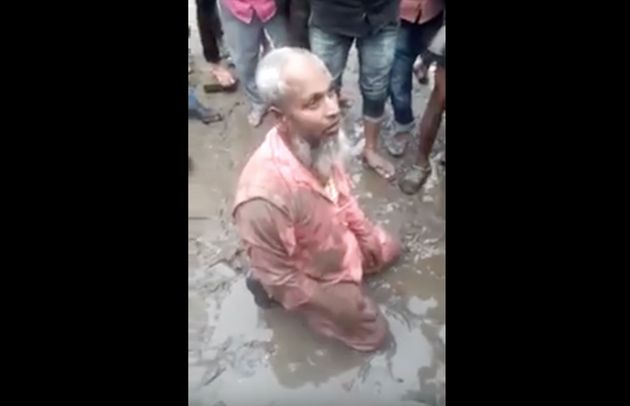 Assam: Muslim Man Assaulted By Mob For Allegedly Selling Beef, Forced To Eat