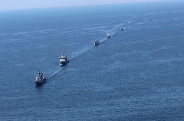 La Navy a participé à un exercice militaire à