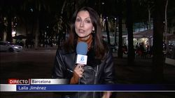 El incidente de una reportera de 'Informativos Telecinco' con un espontáneo en pleno