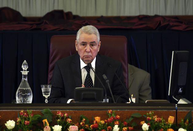 Abdelkader Bensalah désigné chef de l'Etat par intérim pour 90