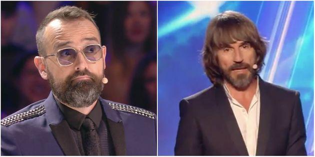 El corte de Santi Millán a Risto Mejide en 'Got Talent'
