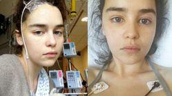 Emilia Clarke partage les photos de son séjour à l'hôpital après ses
