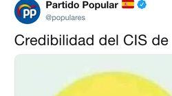 El indignado tuit del PP que provoca un temblor en Twitter por lo que dice del