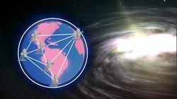 L'EHT, le télescope à trous noirs grand comme la
