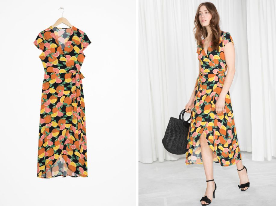 4cef806306f7f 25 Effortless Wrap Dresses You Won't Want To Take Off All Summer ...