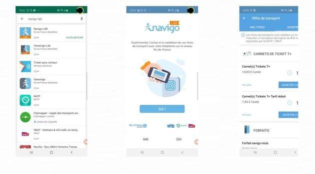 Avec le Samsung Galaxy S10, plus besoin de pass Navigo dans le