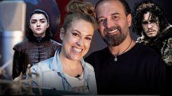 'Juego de Tronos': Las voces de Jon Nieve y Arya