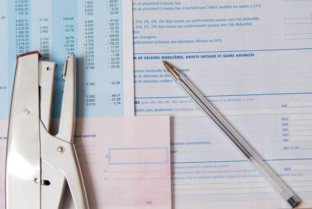 Vous pouvez dès à présent remplir votredéclaration de l'impôt...