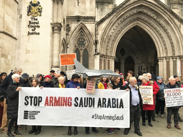 Why We Are Fighting The UK Government To Stop Arming Saudi