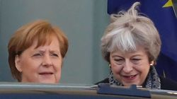 Angela Merkel ve posible aplazar el Brexit hasta