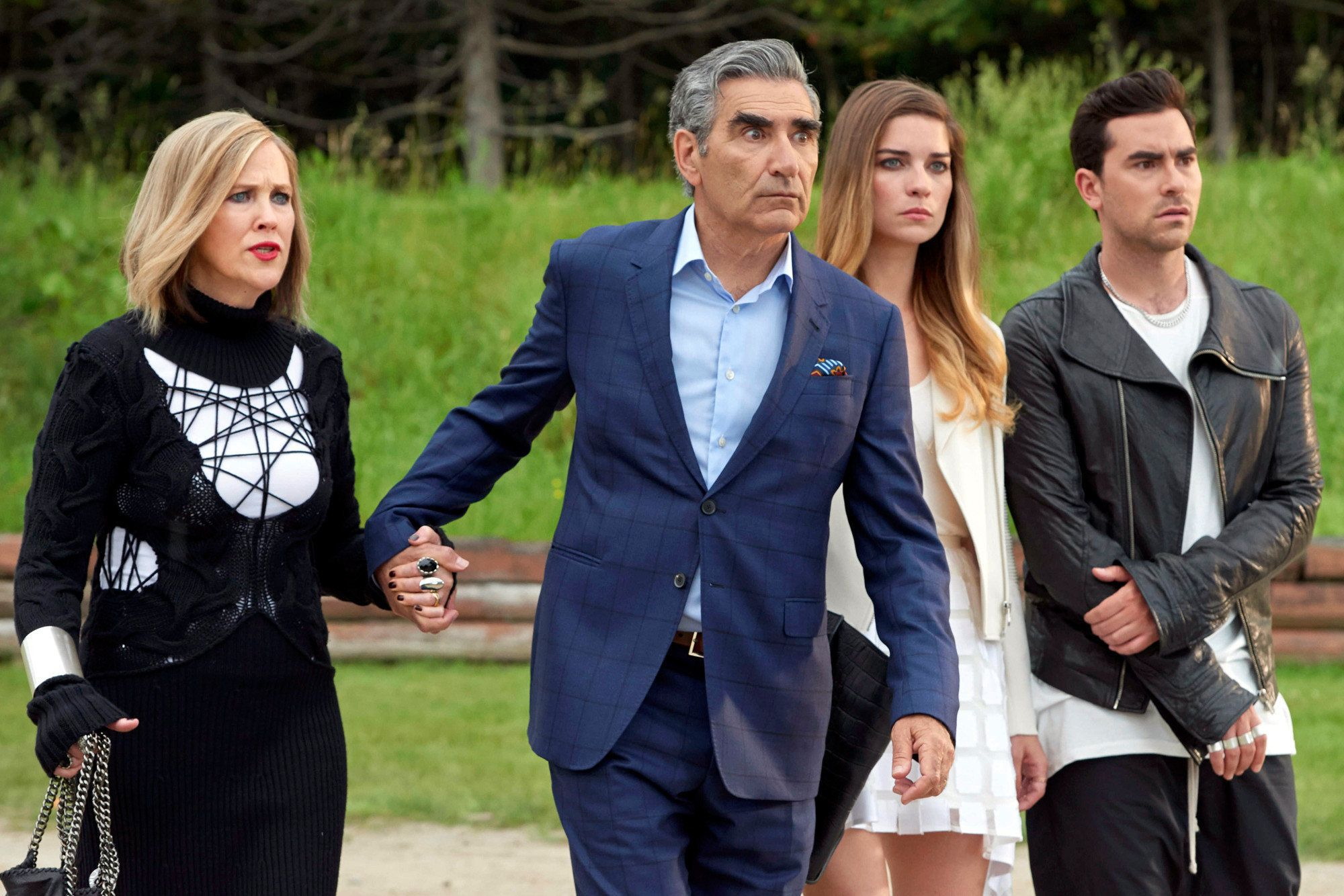 """Schitt's Creek"" on Netflix."