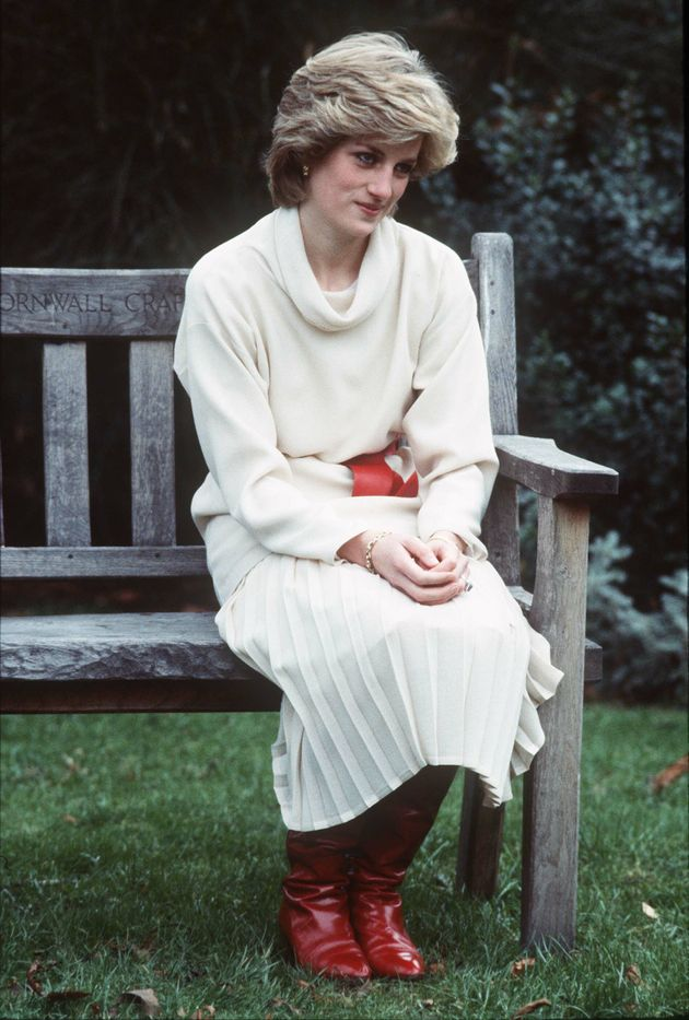Emma Corrin will be playing Princess Diana in series