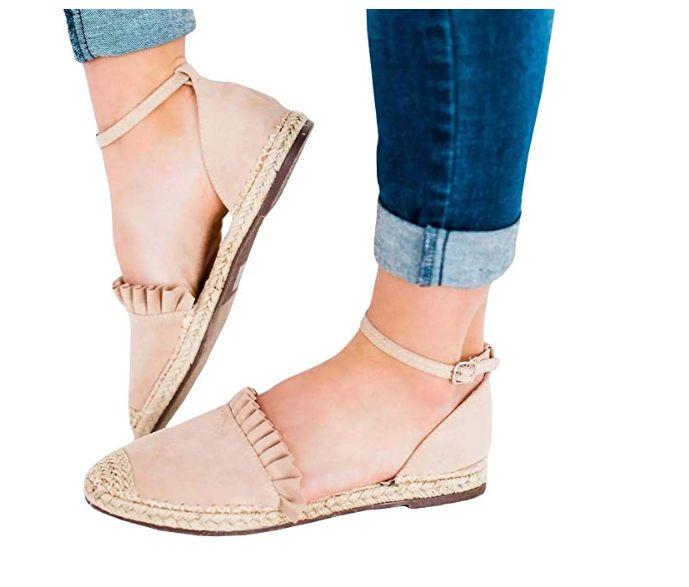 15 Pretty Women's Closed-Toe Sandals On