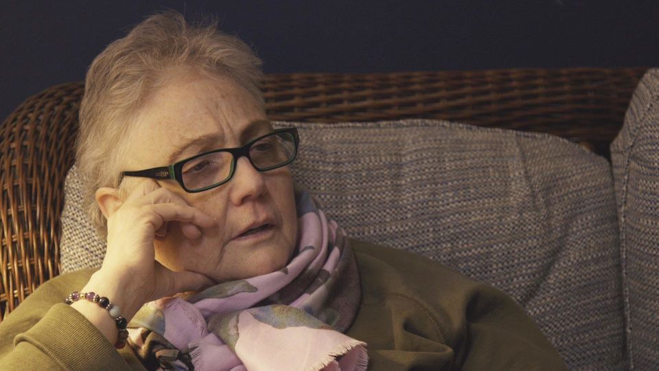 Trish Cahill is a 66-year-old survivor living in Lancaster,