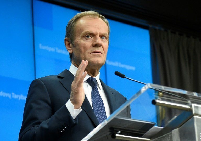 Donald Tusk, favorable a una prórroga de